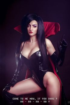 Battletoads - Dark Queen cosplay by shproton