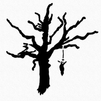 Tree Stencil by forget-the-sun