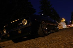 Camaro At Night by KyleAndTheClassics