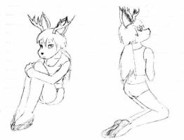 deer be sexy unless i draw em by luciferchan