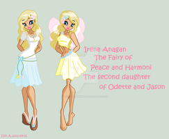 Irene Anagan-The next oldest daughter of Odette by Loveyraspberry