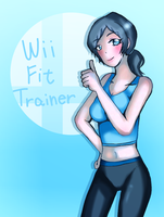 Lady Wii-Fit Trainer by MakotoZhen