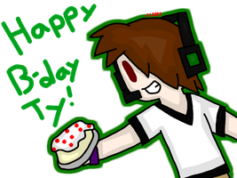 Happy (late) B-day Ty! by SapphireCharm0089