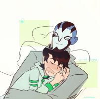 Ben 10 Omniverse: Afternoon Naps by arrival-layne
