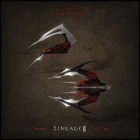 Weapon set concept Lineage II. Fist by llaiii