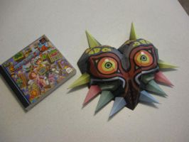 Majora's Mask Papercraft by Lantis02