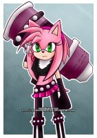 Amy Bazooka 2 by TheSnowDrifter