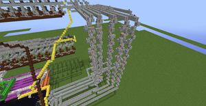 Tic Tac Toe Redstone Build - Wires 5 by bugworlds