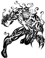 Venom - Guile 2010 sketchbook by SpiderGuile