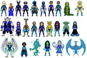 BLue lantern corps by digikevin10