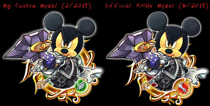 Mickey Comparison by TripleS-Art