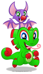 Commission:  Yooka Laylee by AleximusPrime