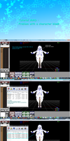 Tutorial MMD : Problem with a character blank by JackFrost-LCDA