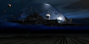 Island in a Bubble by mysticmorning