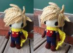 Golden Sun Amigurumi: Isaac by ribbonelle00