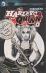 Harley Quinn Arkham City Scketch Cover by calslayton