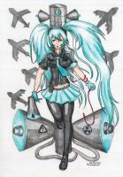 Hatsune Miku: Love is War by CrimsonStigmata2501