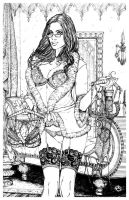 Grimm Fairy Tales Holiday Print by JwichmanN