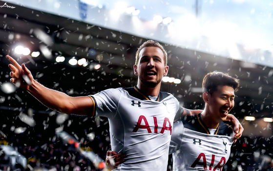 Harry kane and Son Retouch 2017 by workoutf