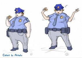 bimbo cop commission 1 colored by johnnysmith6969