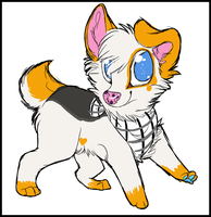 Chibi sketch example. by copheecup