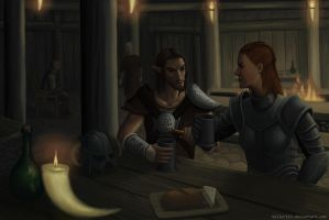 Nord mead by Frozenmudcrab