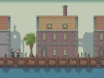 Port town Pixel by OceansDream