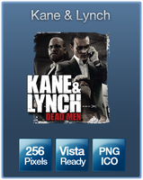 Kane and Lynch Icon by Deffert