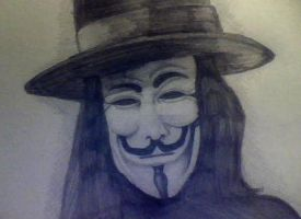 V for vendetta by deathlouis