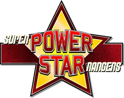 Paper Mario: Super Power Star Rangers Logo by DPghoastmaniac2
