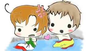 Spamano bath~ by super1ucy