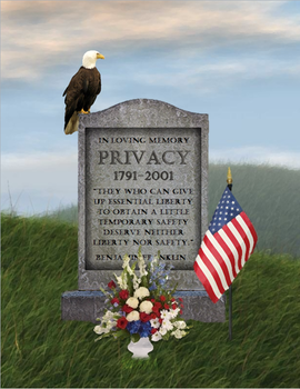 The Death of Privacy by Garveate