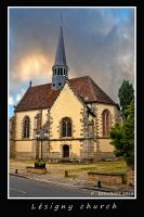 Lesigny church by bracketting94