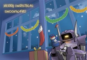 Merry Christmas Shockwave by Tyr44