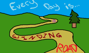 Generic Winding Road by Riveriia