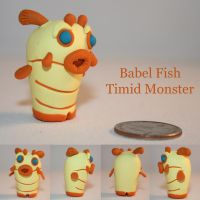 Babel Fish Timid Monster by TimidMonsters