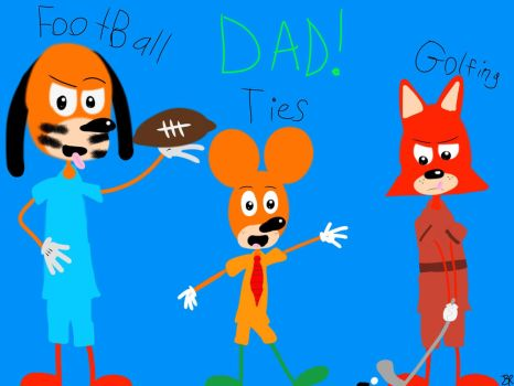 Happy Father's Day From The ToonStars! by AlvinMunk500