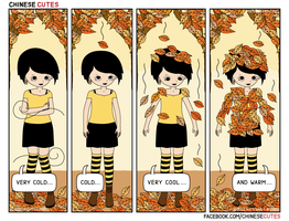 chinese cutes -- '' leaf fall '' by chinese-cutes