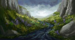 Valley River by Dreamin-Lea