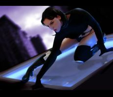 Aeon Flux by FantasyNinja