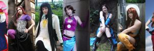 My 2009 Cosplays by bluepaws21
