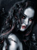 eternita the vampire by L-A-Addams-Art