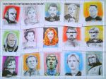 Star Trek:The Next Generation sketchcards by whu-wei