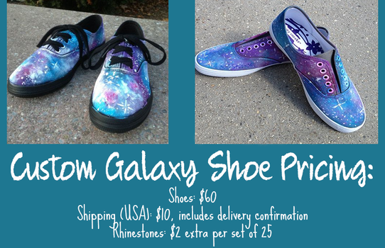 Galaxy Shoes III by thecreativepen