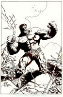 Hulk inks by stevescott