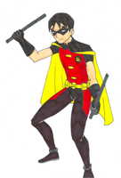 Robin - Young Justice by crystal-studio