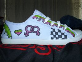 Blood on The Dance Floor Custom sneakers 4 by SydeTrakked