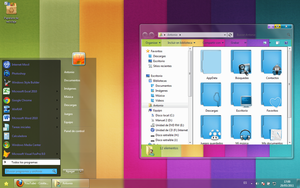 tema cute colory for windows 7 by Espectra16