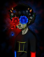 Sollux Flower Eyes by Gresta-GraceM