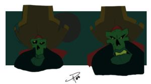 The Many of Faces of LeChuck by yellow-five